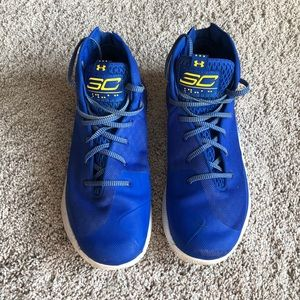 Under Armour Steph Curry basketball shoes